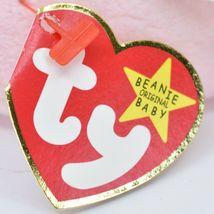 1999 Ty Beanie Baby Original Swirly the Snail Retired Beanbag Plush Toy Doll image 6