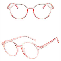 New Oval Fashion Classic Clear Lens Glasses Frame Retro Casual Daily Eyewear image 1