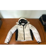 $499 Polo Ralph Lauren RLX White & Navy Lining Quilted Down Puffer Jacke... - $148.49