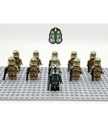 Star Wars Commander Gree Kashyyyk Clones Set 11 Minifigures Lot - USA SE... - $22.99