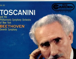 Toscanini  - Beethoven Seventh Synphony - LP Record  - $5.50