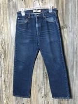Vintage Levi's 505 Men's Size 34x29 Regular Fit Blue Denim Jeans Msre 3... - $19.79