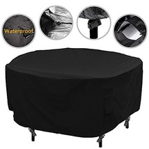 Patio Round Table Chair Set Cover Outdoor Furniture Cover Water Resistan... - $36.50