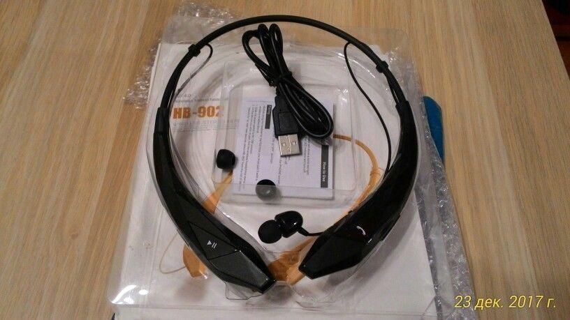 Bluetooth Headset Wireless Sports Stereo Headphone Handsfree Earphones With MIC