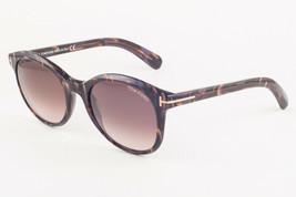 Tom Ford RILEY Havana / Brown Gradient Sunglasses TF298 50F 51mm - $155.82
