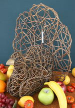 POTTERY BARN THANKSGIVING VINE TURKEY – GOBBLE UP THIS UNIQUE FALL CENTE... - $32.47