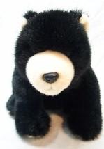"TY Classic NICE SOFT BLACK BEAR 12"" Plush STUFFED ANIMAL Toy 2002 - $19.80"