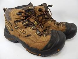 Keen Braddock Mid Top Size 8 M (D) EU 40.5 Men's Steel Toe Work Boots 1011242