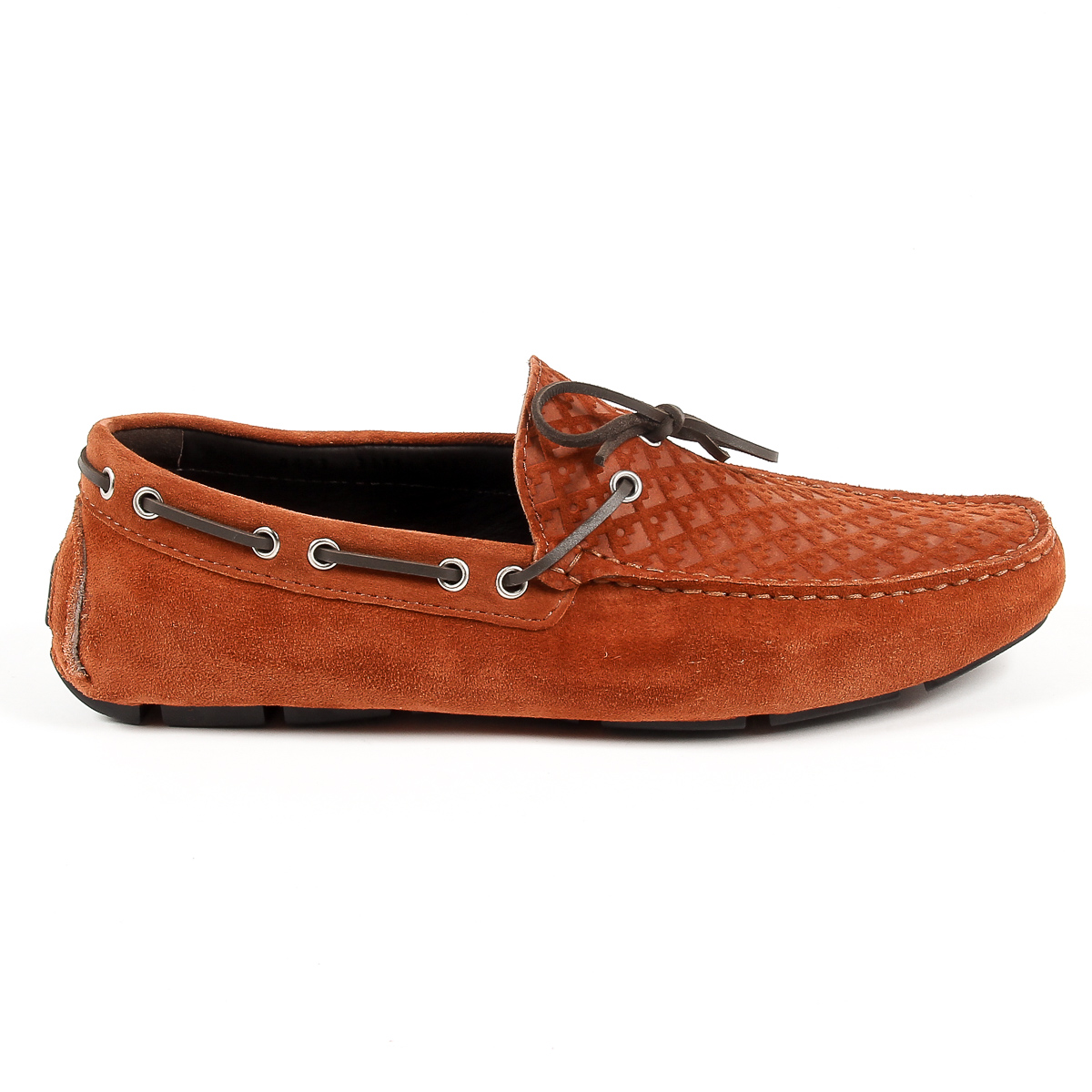 Primary image for V 1969 Italia Mens Loafer Brown KARL
