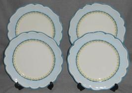 Set (4) Lenox PROVENCAL BLUE PATTERN Luncheon Plates - $47.51