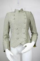 Armani Collezioni Blazer Jacke Wolle Rayon Zweireihig - $100.38