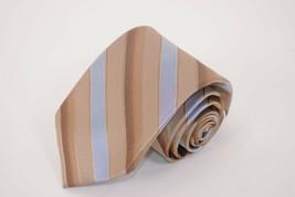 Robert Talbott NWT Best of Class Neck Tie In Light Brown W/ Blue & Brown... - $85.20