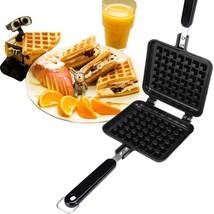 Non-stick Aluminum Pancake Maker Waffles Cake Pan DIY Mold Bakeware Kitc... - $27.87