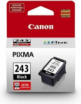 Canon PG-243 CL-244 Ink Cartridges Black Color TR4520 TS3320 MG2525 MG25... - $32.26