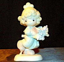 Precious Moments Lord Help Me Stick To My Job 521450 AA-191889 Vintage Collect