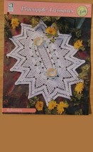 Crochet Patterns Floral Flower Doily Patterns Doily Doilies House White ... - $12.95