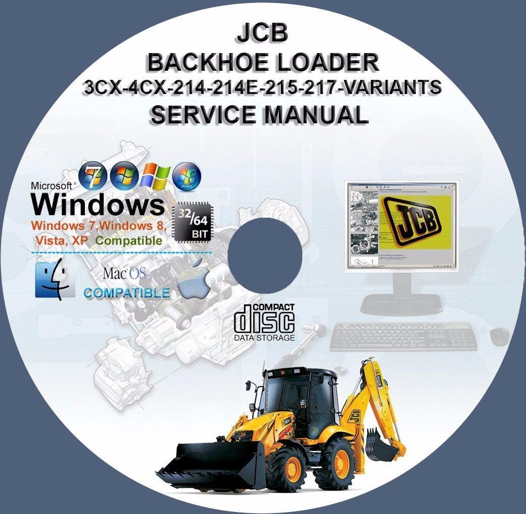 Service manual 1997 jcb 214s Motor on