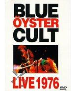 Blue Oyster Cult - Live 1976 DVD - $49.95