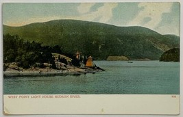 Old Antique DB Postcard West Point Light House Lighthouse, Hudson River ... - $19.55