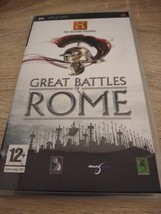 Sony PSP~PAL REGION The History Channel: Great Battles Of Rome image 1