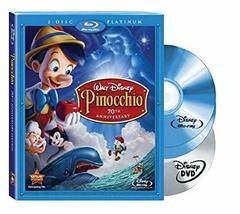 Disney Pinocchio (Platinum Edition 3 disc Blu-ray + DVD)