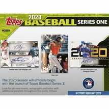 2020 Topps Baseball Series 1 Hobby JUMBO 6 Box Case 12 Silver Packs - Presell - $594.00