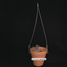 (3 Pack) 16'' Steel Hangers for plastic pots by Sophie's Orchids  - $15.85