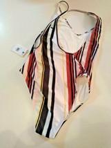 Volcom Earn Your Stripes One Piece Swimwear Size Medium image 2