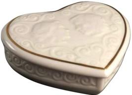 Heart Shaped TRINKET Box Romeo & Juliet by Lenox - $37.39