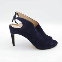 Cole Haan Womens Emmett Ankle Booties Blue Stiletto Heel Peep Toe 6.5 B - $61.51