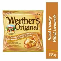 Werther's Original Creamy Caramel Filled Hard Candy 135g NEW - $8.54