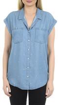 Jachs Girlfriend Women's Sleeveless Button Down Top - Size: Medium      ... - $14.99
