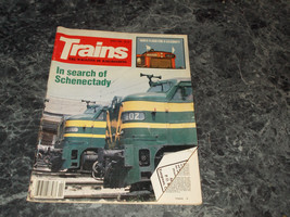 Trains Magazine The Magazine of Railroading April 1985 - $2.96