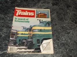 Trains Magazine The Magazine of Railroading April 1985 - $3.95