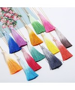 Exknl 13 Colors Tassel Necklace Women Long Boho Bohemia Necklace Stateme... - $8.06