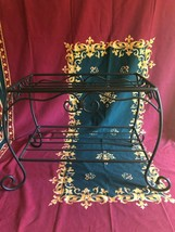 Longaberger Wrought Iron Treasures Stand for Treasures or Family Picnic Baskets! - $84.55