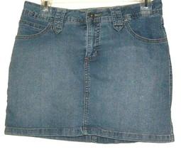 Women's Blue J EAN SKIRT/SHORT Size 8P - $8.00