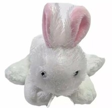 "Webkinz 7"" Plush Rabbit Bunny White HM078 GANZ  - $15.14"