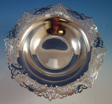 "Whitehall by International Sterling Silver Bowl Pierced 10"" #D161 (#1846) - $503.60"