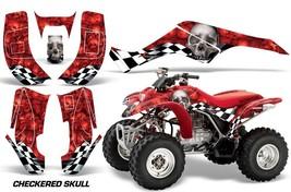 ATV Graphics Kit Quad Decal Wrap For Honda Sportrax TRX250 2002-2005 CHECKER W R - $168.25