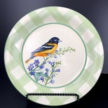 """Lenox Summer Greetings BY Catherine McClung 14"""" Serving Plate Oriole Bir... - $24.74"""