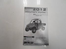2012 Arctic Cat Prowler Hdx Operators Manual Rov Minor Wear Factory Oem Deal *** - $39.55