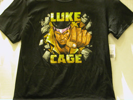 "Luke Cage ""Break The Wall"" Marvel T-SHIRT + Luke Cage #1 - Free Shipping - $18.70"