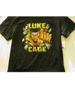 "LUKE CAGE ""BREAK THE WALL"" MARVEL T-SHIRT + LUKE CAGE #1 - FREE SHIPPING - $18.70"