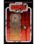 Star Wars Deadpool Han Solo Carbonite 004 - Custom Lego Card Back w/Blister - $5.00