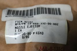Allis Chalmers 1966033200002 Nozzle Ejector New image 3
