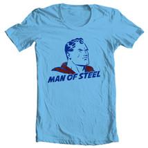 Vintage Superman Man of Steel T-shirt Classic Golden Age DC comics tee SM1922 image 2