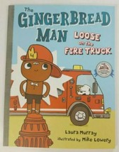 THE GINGERBREAD MAN LOOSE on the FIRE TRUCK Paperback Book - $4.99