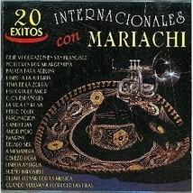 20 Exitos Internacionales con Mariachi CD - $4.95