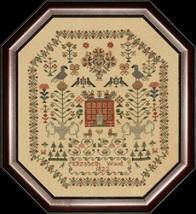 Elizabeth Wood 1822 cross stitch chart With My Needle image 1